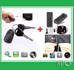Mini S918 HD Button DV Camera With Car Key Voice Camera/ Video Recorder   Vehicle Parts & Accessories for sale in Lagos State, Ikeja