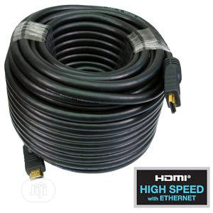 HDMI To HDMI Cable 30M With Booster | Accessories & Supplies for Electronics for sale in Lagos State, Ikeja