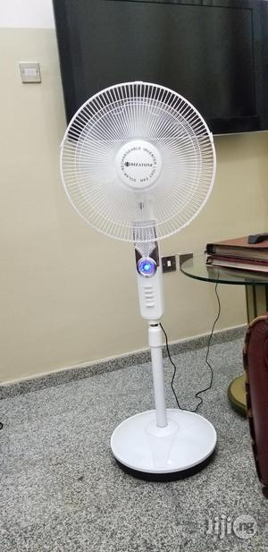 Dizatone Solar Rechargeable Fan | Solar Energy for sale in Lagos State, Ilupeju