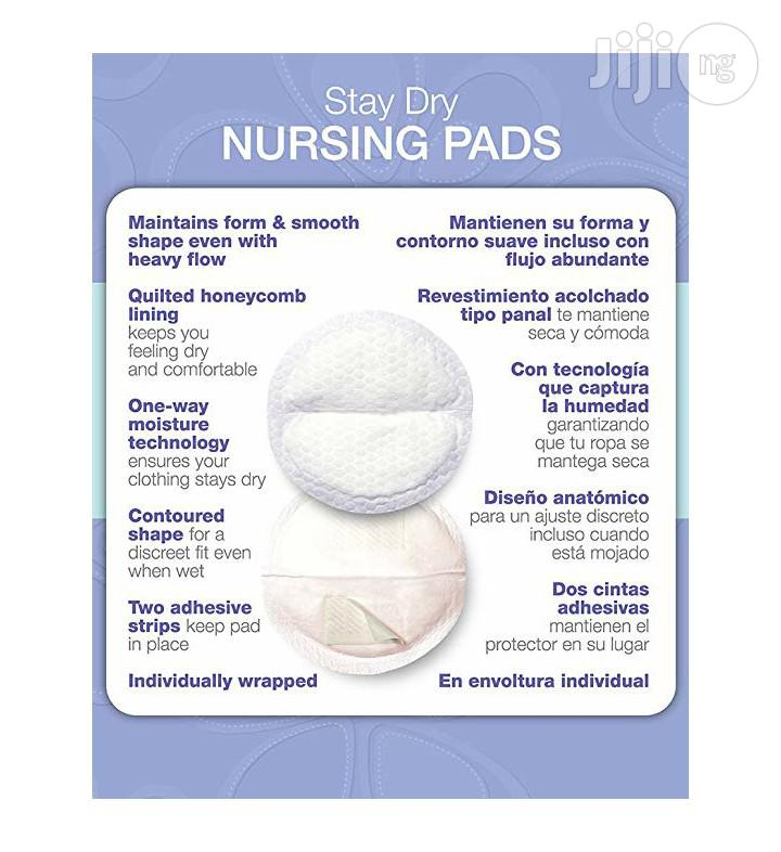 Lansinoh Stay Dry Disposable Breast Pads (60pcs) | Maternity & Pregnancy for sale in Ikeja, Lagos State, Nigeria
