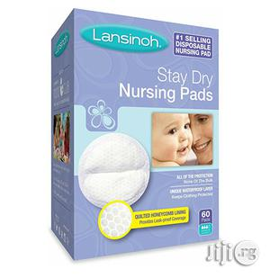 Lansinoh Stay Dry Disposable Breast Pads (60pcs) | Maternity & Pregnancy for sale in Lagos State, Ikeja