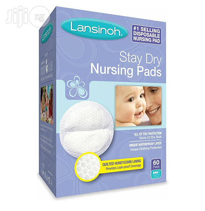 Lansinoh Stay Dry Disposable Breast Pads (60pcs)