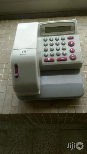 Electronic Check Writer Embossing Machine   Store Equipment for sale in Lagos State, Victoria Island