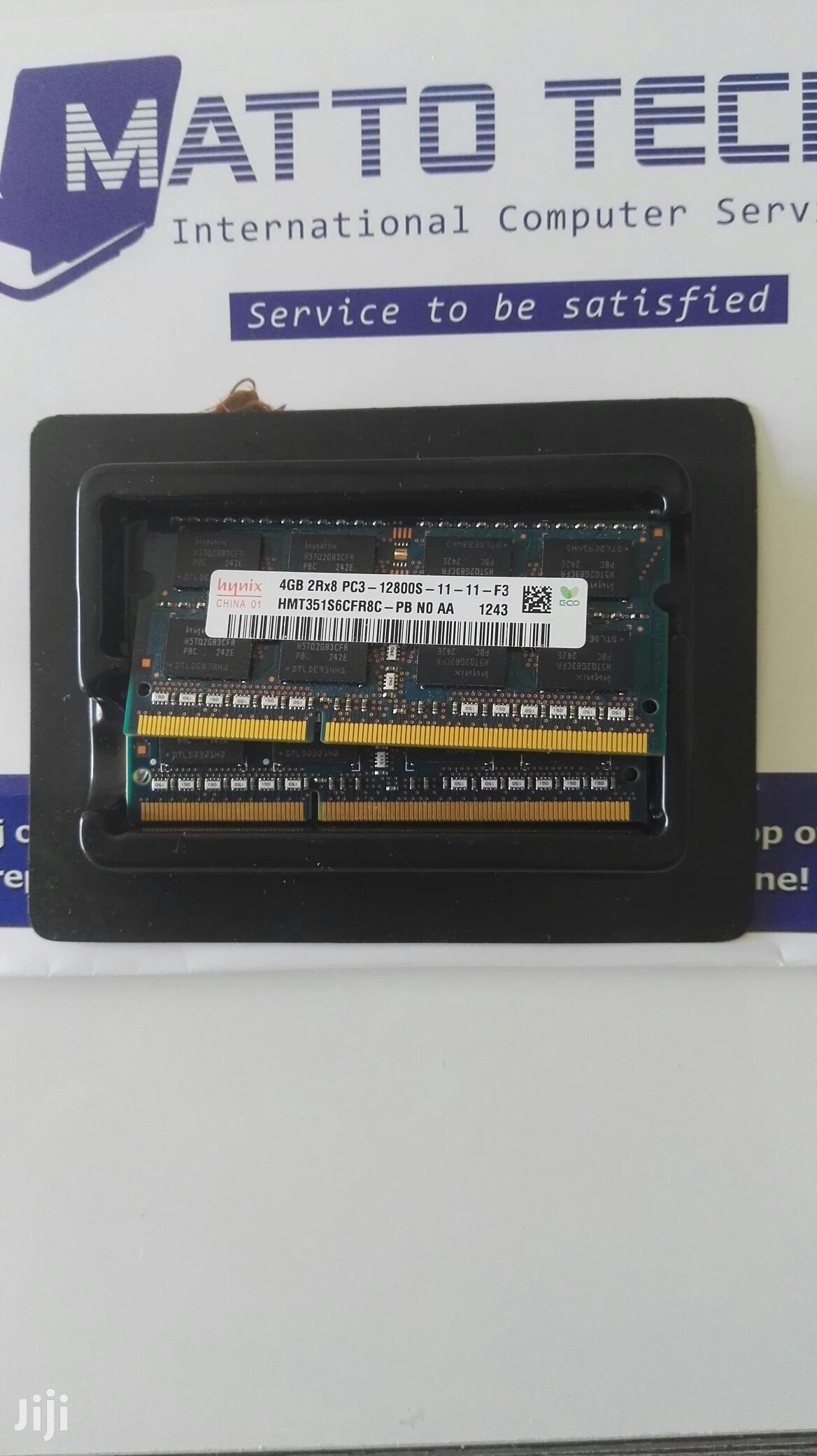 2x 4GB DDR3 Laptop And Macbook Ram Memory (Total 8GB Pc3-12800s) | Computer Hardware for sale in Alimosho, Lagos State, Nigeria
