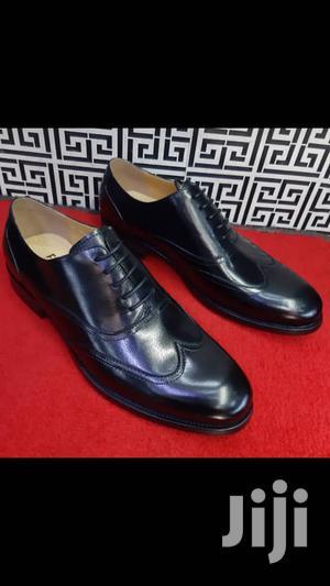 Fad Black Leather Shoe   Shoes for sale in Lagos State, Lagos Island (Eko)