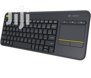 Logitech K400 Plus Wireless Touch Keyboard   Computer Accessories  for sale in Lagos State, Ikeja