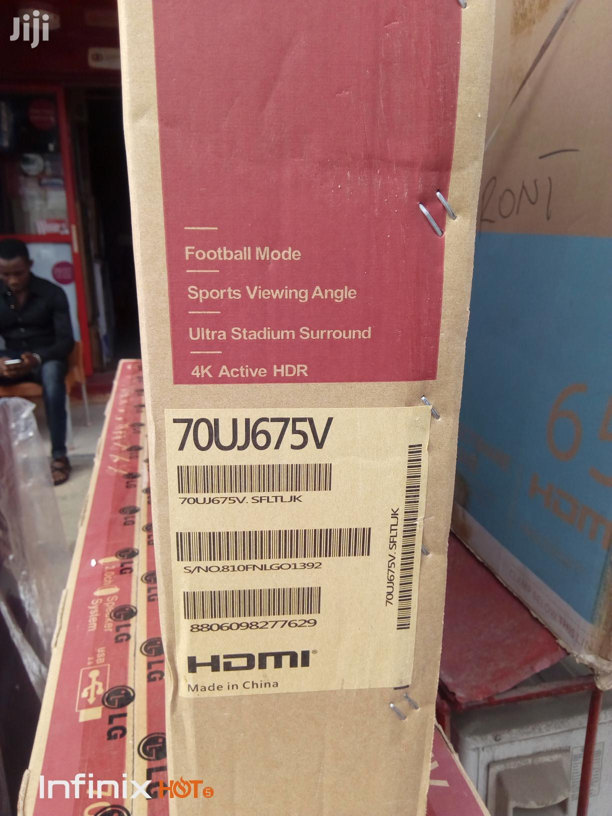 "Brand New LG Uhd 4K Fullhd Smart Internet TV 70""Inches   TV & DVD Equipment for sale in Ojo, Lagos State, Nigeria"