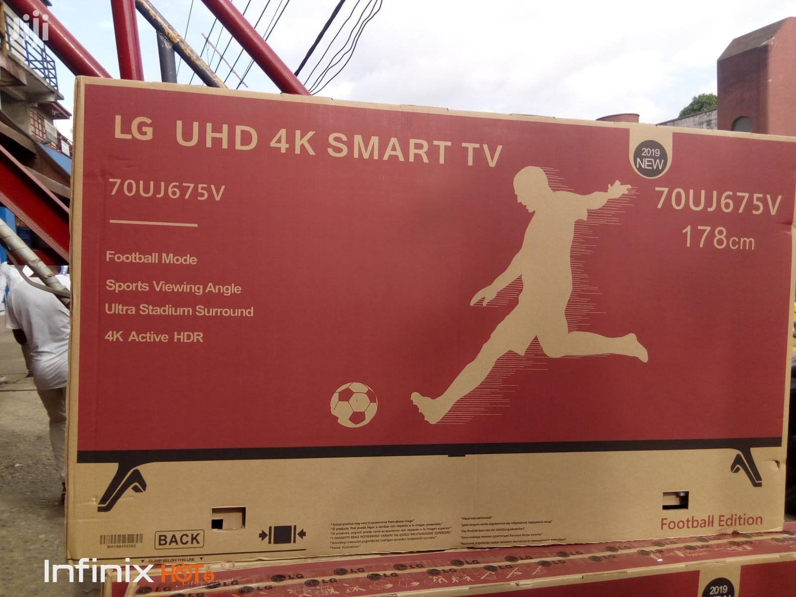 "Brand New LG Uhd 4K Fullhd Smart Internet TV 70""Inches"