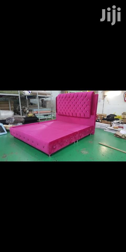 Boll, Upholstery Bed 6 By 6 | Furniture for sale in Ajah, Lagos State, Nigeria
