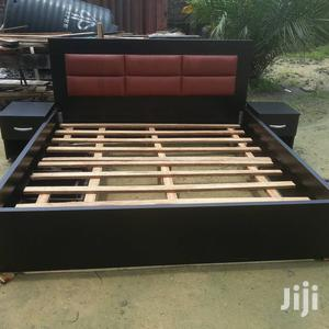 6 By 6 Bedframe With 2 Bed Side | Furniture for sale in Lagos State, Lekki