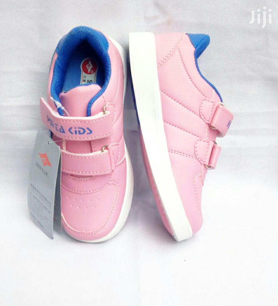 Pink and Blue Canvas Sneakers   Children's Shoes for sale in Lagos Island (Eko), Lagos State, Nigeria