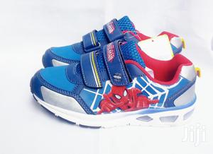 Blue Spiderman Canvas Sneakers | Children's Shoes for sale in Lagos State, Lagos Island (Eko)