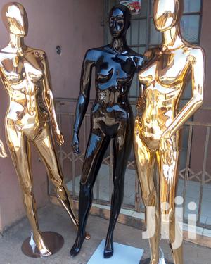 Gold and Glossy Black Female and Male Display Mannequins | Store Equipment for sale in Lagos State, Lagos Island (Eko)
