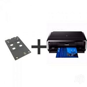 7240 Pixma Id Card,Photo,Paper And Cd Printer + ID Card Tray | Printers & Scanners for sale in Lagos State, Ikeja