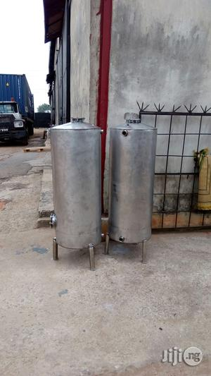Local Stainless Water Treatment Tank | Plumbing & Water Supply for sale in Lagos State