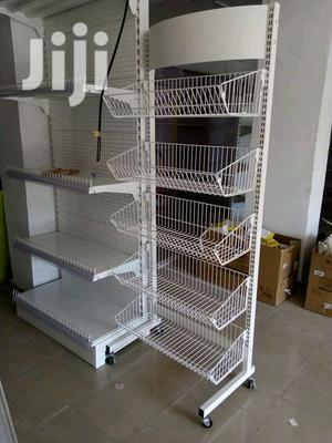 High Quality Supermarket Display Shelves( Single Sided And Double Side   Store Equipment for sale in Lagos State