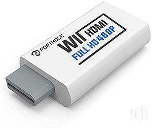 USA PORTHOLIC Wii To HDMI Converter For Full HD Device | Video Games for sale in Lagos State, Alimosho