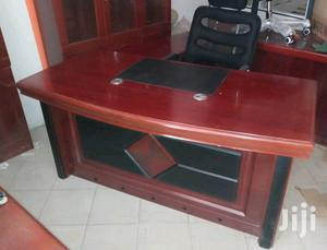 Imported Superb Executive Office Table (With Extension &Mobile Drawer)   Furniture for sale in Lagos State, Victoria Island