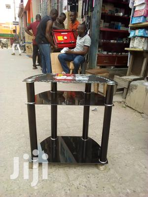 Portable Glass T.V Stand | Furniture for sale in Lagos State, Ojo