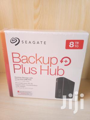 Backup Plus Hub 8TB External Hard Drive | Computer Hardware for sale in Lagos State, Ikeja