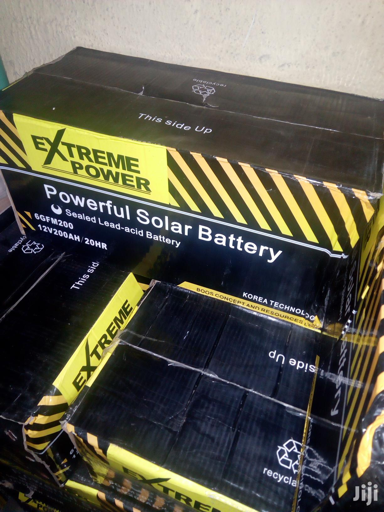 200ah Extreme Power Solar Battery Available With 1yr Warranty