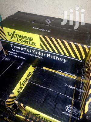 200ah Extreme Power Solar Battery Available With 1yr Warranty | Solar Energy for sale in Lagos State, Ojo