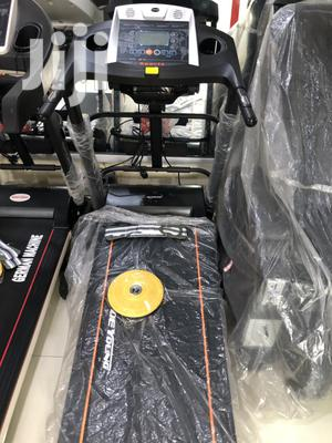 Brand New 2.5hp Treadmill With Massager   Sports Equipment for sale in Lagos State, Magodo
