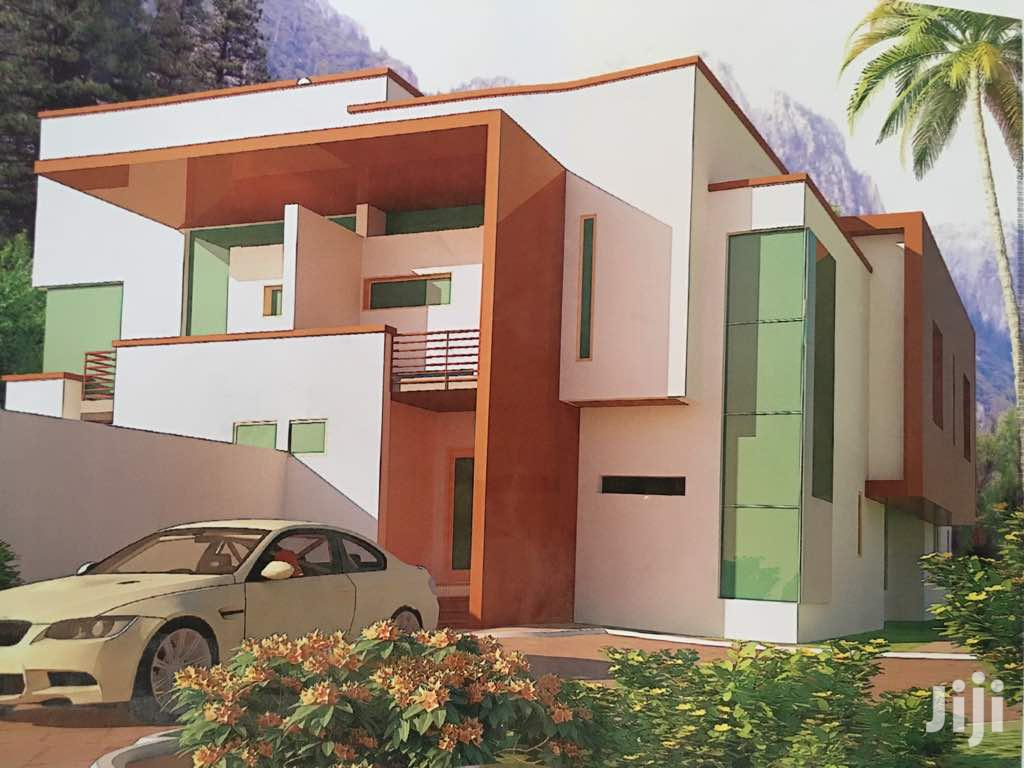 830Sqm Land For Sale With 5 Bedroom Semi Detached Duplex Foundation.   Land & Plots For Sale for sale in Lekki, Lagos State, Nigeria