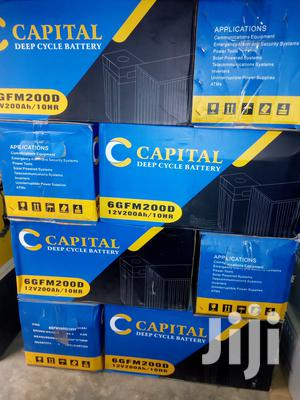 200ah 12v CAPITAL Battery Available With 1yr Warranty | Solar Energy for sale in Lagos State, Ojo