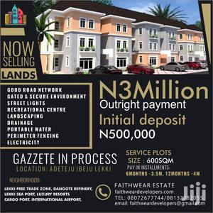 600sqm of Land at Faithwear Estate Lekki for Sale.   Land & Plots For Sale for sale in Lagos State, Ibeju