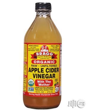 Bragg's Organic Raw Apple Vinegar-16 FL OZ (Small Size)   Vitamins & Supplements for sale in Lagos State, Ikeja