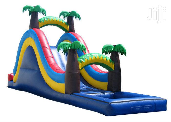Archive: Bouncing Castle With Slide And Pool For Sale