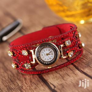 Quality Rhinestone Bracelet Wrist Watch   Watches for sale in Lagos State, Surulere