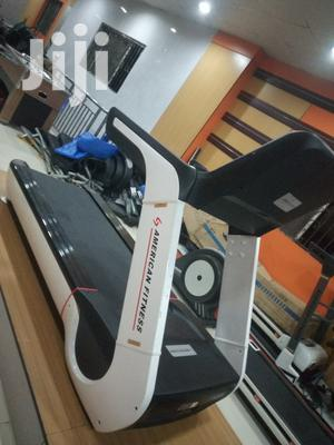 8hp Commercial Treadmill American Fitness Can Carry 300kg Weight | Sports Equipment for sale in Lagos State, Surulere