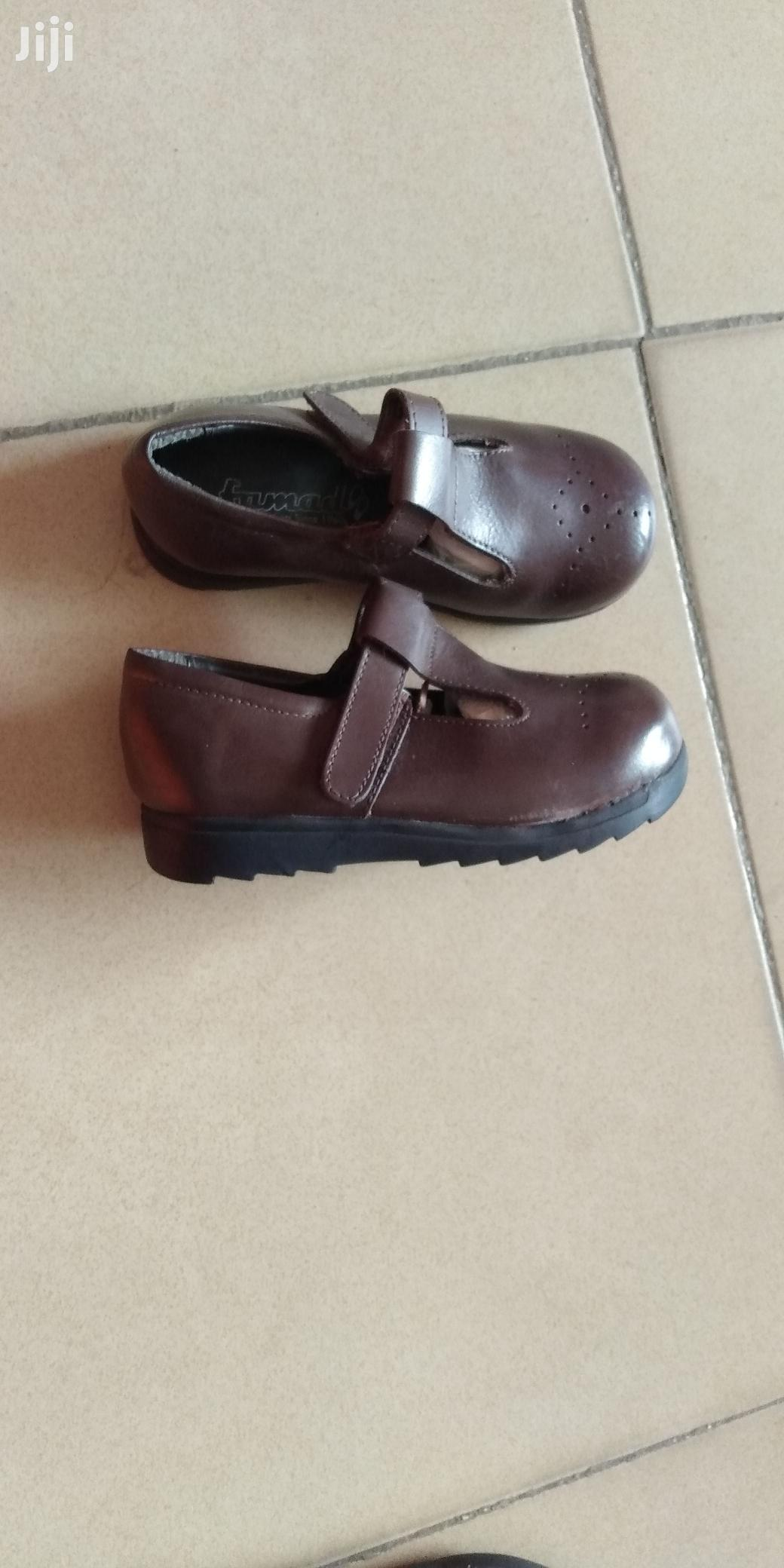 Brown School Shoes for Boys and Girls