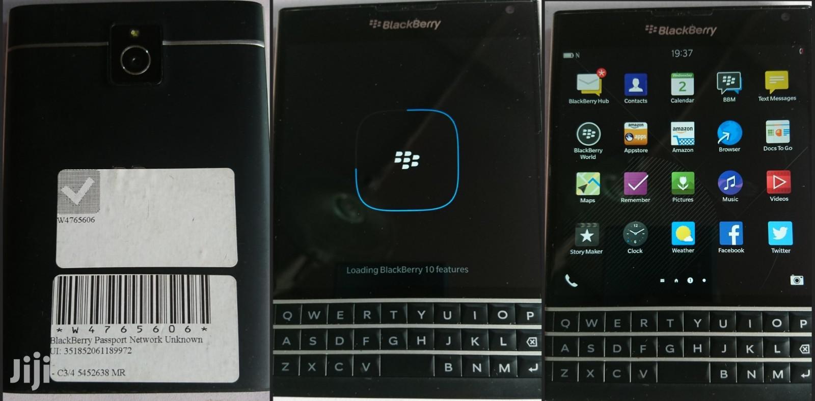 BlackBerry Passport 32 GB Black | Mobile Phones for sale in Lagos State, Nigeria