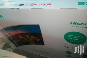 Hisense LED 55inch Curved TV   TV & DVD Equipment for sale in Lagos State, Lekki