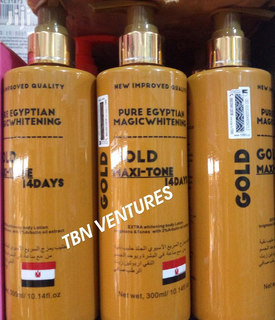 Pure Egyptian Magic Whitening Gold Maxi-Tone Lotion -300ml
