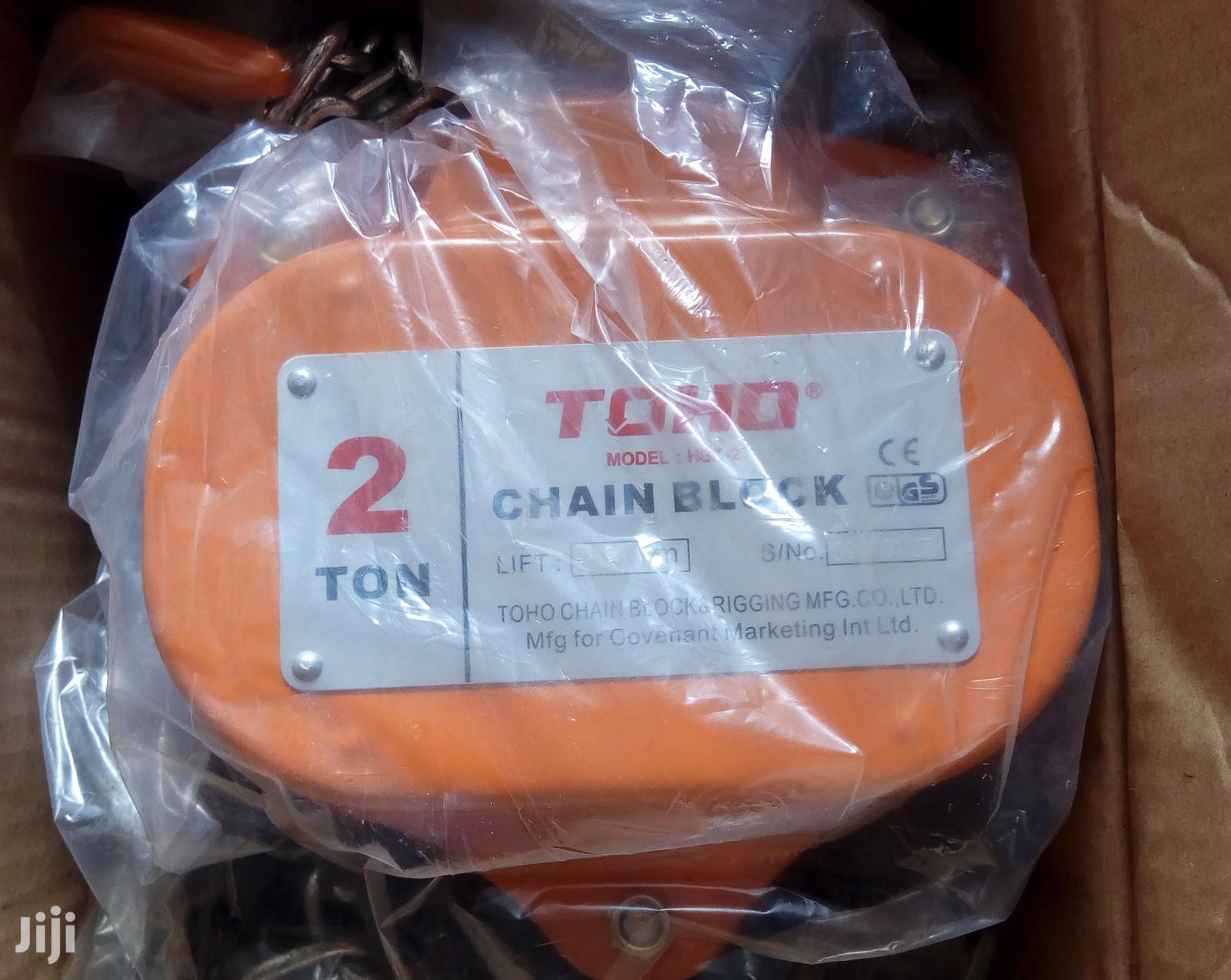 Chain Block 2tonx3meter