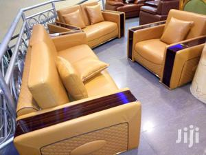 Imported Sofa Chair Guaranteed Leather | Furniture for sale in Lagos State, Ajah