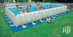 32ft by 16ft Intex Mobile Swimming Pool With Accessories | Sports Equipment for sale in Rivers State, Port-Harcourt