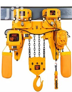 Electric Chain Hoist 10tons | Manufacturing Equipment for sale in Lagos State, Ojo