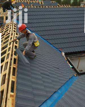 Roman Stone Coated Roof Tiles At Docherich | Building Materials for sale in Lagos State, Ikotun/Igando