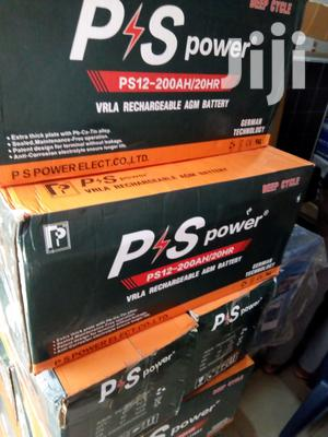 200ah 12v PS Power Solar Battery Available With 1yr Warranty   Solar Energy for sale in Lagos State, Ojo