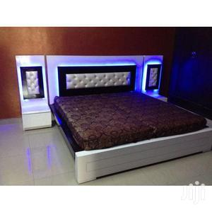 GX5 Sofas,, LED Lights Bed Frame 6 By 6 | Furniture for sale in Lagos State, Lekki