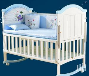 Baby Wooden Cot | Children's Furniture for sale in Lagos State, Lagos Island (Eko)