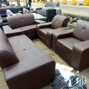 Quality 7 Seater Leather Sofa for Sale   Furniture for sale in Lagos State, Surulere
