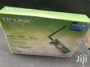 TPLINK 150 Mbps Wireless N PCI Adapter   Computer Accessories  for sale in Lagos State, Ikeja