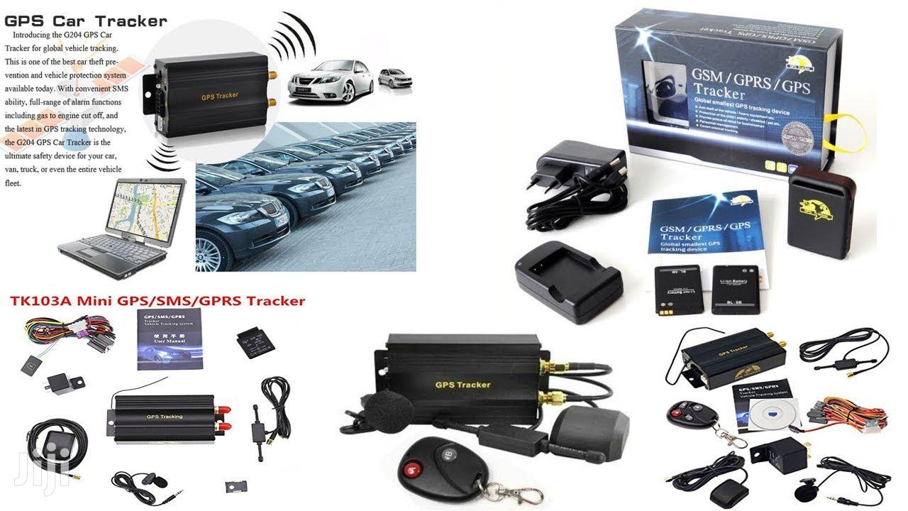 GPS-GSM-SMS-GPRS Car Tracker | Vehicle Parts & Accessories for sale in Ikeja, Lagos State, Nigeria