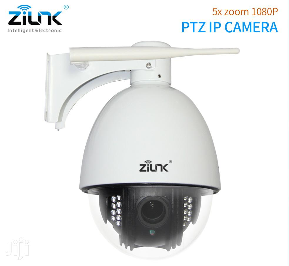 ZILINK Wifi Wireless/Wired HD 1080P Outdoor Pan/Tilt IP Network Camera